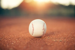 Bille de base-ball image stock