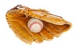 Bille de base-ball et MIT photographie stock