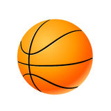 Bille de basket-ball Photos stock
