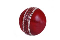 Bille de cricket. Photographie stock