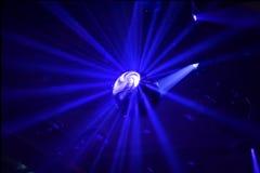 Bille de disco dans le mouvement Photo stock