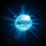 Bille de disco Fond de disco Image libre de droits