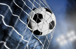 Bille de football image libre de droits
