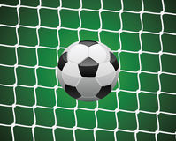 Bille de football Photographie stock