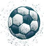 Bille de football illustration libre de droits