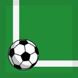 Bille de football illustration stock