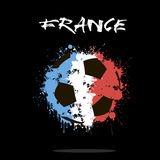 Bille de football abstraite illustration stock