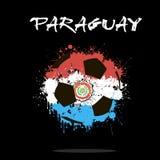 Bille de football abstraite Image libre de droits