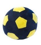 Bille de football de jouet Photos stock