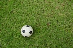 Bille de football de première vue Photo stock