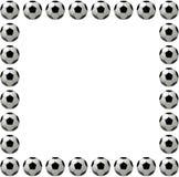 Bille de football ou trame carrée du football Photos libres de droits