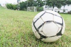 Bille de football sur la zone Image libre de droits