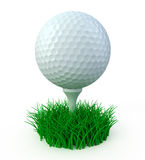 Bille de golf Images libres de droits