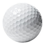 Bille de golf Photo libre de droits