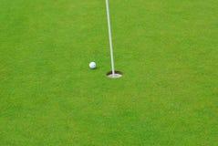 Bille de golf Image libre de droits