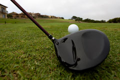 Bille de golf Photo libre de droits