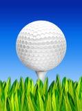Bille de golf Photographie stock libre de droits