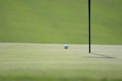 Bille de golf Photos libres de droits