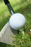 Bille de golf Photos stock