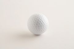 Bille de golf - balle de golf Images stock