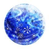 Bille de l'hiver Images libres de droits