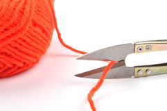 Bille de laine Photo libre de droits