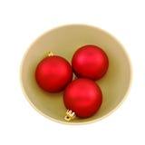 Bille de Noël de trois vecteurs Image libre de droits