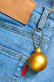 Bille de Noël - prix à payer Photographie stock libre de droits
