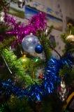 Bille de Noël sur l'arbre de Noël Photos libres de droits