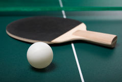 Bille de ping-pong Photos stock