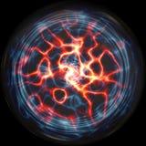Bille de plasma illustration de vecteur