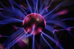Bille de plasma, Image stock