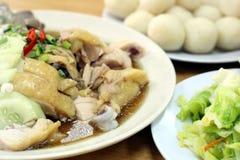 Bille de riz de poulet Images libres de droits