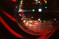 Bille de rotation de disco Photo stock
