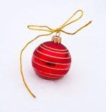 Bille de rouge de Noël Photographie stock