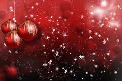 Bille de rouge de Noël illustration stock