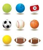Bille de sport de vecteur Photos libres de droits