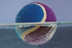 Bille de tennis. Image stock