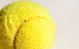 Bille de tennis Photos stock