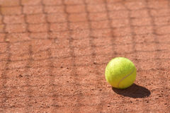 Bille de tennis Photographie stock
