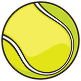 Bille de tennis Image stock