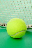 Bille de tennis Images stock