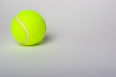 Bille de tennis Image stock