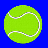 Bille de tennis illustration libre de droits