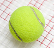 Bille de tennis Photographie stock libre de droits