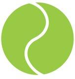 Bille de tennis images libres de droits