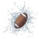 Bille du football illustration stock