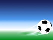 Bille du football Images stock
