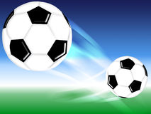 Bille du football Photo stock