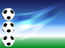 Bille du football Photo libre de droits